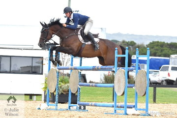 Nelson Smyth from Qld rode Laurel Glen Lucky Time in the Open 130cm Art. 238.2.1. There were 64 combinations entered in this class.