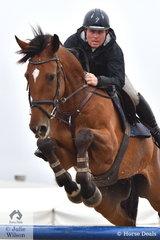 Rhett Oliver rode Finch Farm Columbus in the Open 130cm Art. 238.2.1.