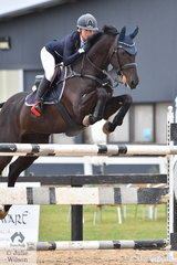 Amanda Ross rode a quick clear round aboard RLE Cavalier Vivendi in the in the Open 130cm Art. 238.2.1. for fifth place.