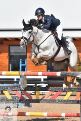 Chloe Dennison rode Cera Bonita to third place in the Young Rider Championship.