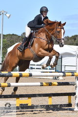 Lily Ivancic riding Pronto E Allevamento took fourth place in the OTT Championship.