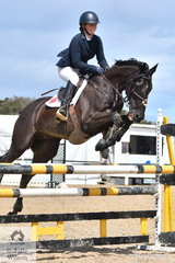 Nina Griffiths rode Mr Ali to third place in the OTT Championship.