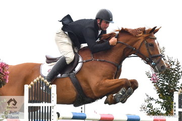 Russell Morrison rode CE Cajun to fifth place in the Mini Prix.