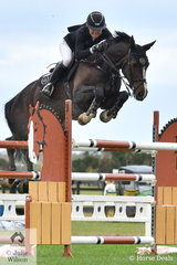 Jess Stones rode Chatina JRE to fourth place in the Mini Prix.