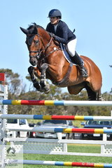 Amber Fuller rode two clear rounds aboard CP Aretino to finish in second place in the World Wetlands Day World Cup Qualifier.