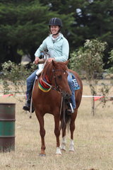 Amy Carpenter winner of the Crane Transport Open section and over all High Point winner.