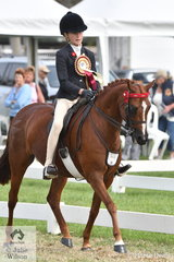 Zohe Willison rode 'Hamlot Park Holy's Silk' to be declared 2020 Barastoc Reserve Champion Junior Rider.