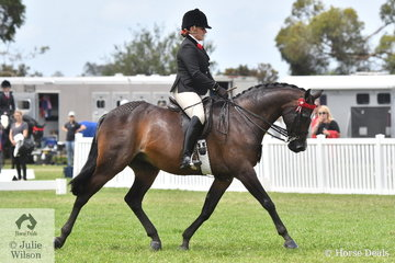 Briony Randle rode Emily Murray's well performed, 'Monument Park Superstar' to claim the Barastoc 2020 Small Galloway Reserve Championship.