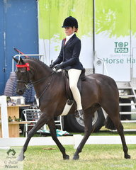 Ella O'Doherty has had a busy 2020 Barastoc and today she rode well to take out the Intermediate Rider Championship