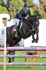 """Mark Griffiths placed 3rd in the 95cm class riding """"Mr Ali"""""""
