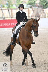 Kodi Tupper rode Karma Wilson's, 'Endless Dream' to third place in the Young Rider Team Test CDIY.