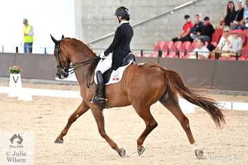 It was wonderful to see so many talented riders from New Zealand at the 2020 Willinga Dressage By the Sea event. Wendi Williamson is pictured aboard her own and Jon Williamson's, 'Don Amour MH' by Don Frederico during the Willinga Park Grand Prix CDI4*.