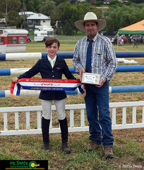 Show Jumper of the show went to Connor Lane after a very successful day of jumping.
