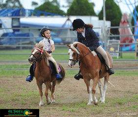Killarney Show offered a ring dedicated to beginner riders for them to have a go in the showing circuit.