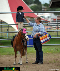 The quietest lead rein pony was Rohirrim Felarof with Josie Kahler standing tall and proud on top of her pony.