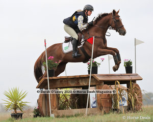 """Sophie Fox placed 8th in the CCN 2* riding """"Sparrow"""" with a final score of 53.30"""