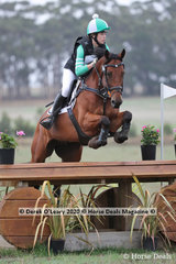 """Lily Wickenden rode """"EA Berlin"""" placing 6th in the CCN2* with a final score of 50.50"""