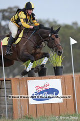 """Kate Bromley rode """"Vanguard"""" to take 3rd place in the CCN 2 * with a final score of 42.50"""