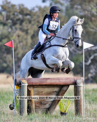 """Sophie Doake placed 3rd in the CCN 2.5* riding """"Grandjany"""" her final score 46.20"""