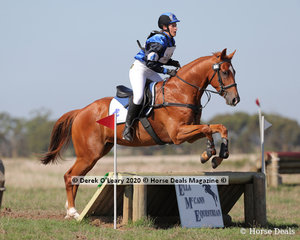 """Nicolle Harley rode """"Sesame Street"""" in the EVA65 Grassroots placing 4th with a final score of 29.60"""