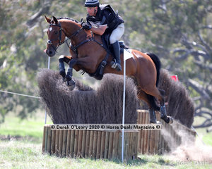 """Yona Lloyd was back in great form after a long break with an injury, placing 1st and 3rd in the CCN 1* Section A, pictured here onboard """"Ballahowe Ayurvedic"""""""