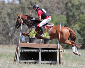 """Stuart Walker and """"Exaggeration"""" in the CCN 1* Section A placed 10th with a score of 39.80"""