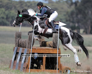 """Racheal Beath rode """"Splash Of Class"""" placing 7th in the CCN 1 * Section A with a final score of 36.30"""