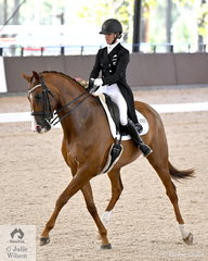 The Willinga Park Grand Prix Freestyle CDI4* was a competition of personal best scores. Melissa Galloway rode her talented, 'Windermere J'Obei W' to score a personal best, 75.565% to take second place.
