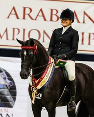 Karma Park Bellagio  Australian Gold Champion Hack of the show for Naomi Brincau