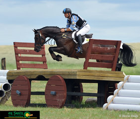 Australian Olympian Shane Rose and his mount Easy Turn navigate through the CCI 4 Star Cross Country course at the Tamworth International Eventing held at AELEC.
