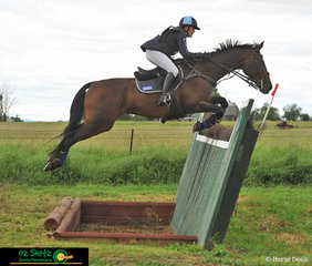 Competing in the CCI 3 Star is Katie Taliana and her horse Trevalga II who carried her into first place at Tamworth International Eventing.