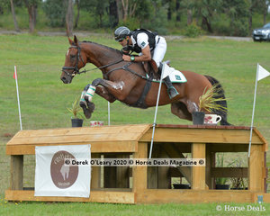 "Usman Khan placed 4th in the CCI4*-S riding ""Azad Kashmir"" with a final score of 88.70"