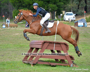 """Edward Darby placed 7th in the CCI2*-S riding """"Dawn Of The Day"""" with a final score of 51.10"""