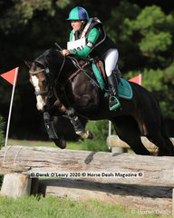 "Sam Christian placed 3rd in the EVA 80 Section A riding ""Bindi Boo"""