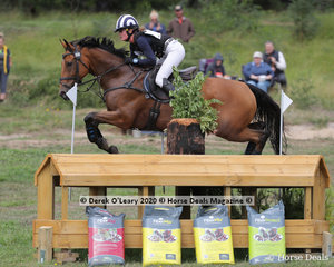 """Sophia Landy placed 2nd in the CCI4*-S riding """"Humble Glory"""" with a final score of 65.90"""