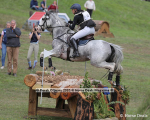 "Bianca Sigismundi and ""Royal Chanel"" placed 3rd in the CCI4*-S with a final score of 65.90"