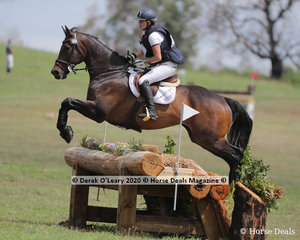"""Jessica Tainsh rode """"Punching In A Dream"""" placing 4th in the CCI3*-S with a final score of 61.20"""