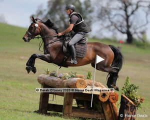 "David Middleton placed 3rd in the CCI3*-S riding ""WEC In The Swing"" with a final score of 59.70"