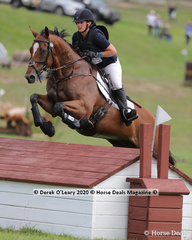 "Leah Rodwell placed 3rd in theCCI2*-S riding ""Almancil"" with a final score of 49.80"