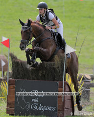 "Juliette Darby rode ""Secret Liason"" in the CCI2*-S"