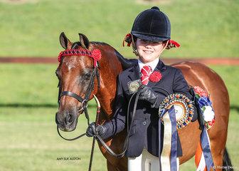Best Junior Handler under 12 years was won by Olivia Kus & Bordershow Boy Scout.