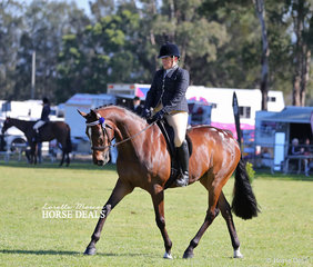 """Winner of the Newcomer Hack over 15hh and Open Hack over 16.2hh """"Kingsguard"""" and Nicole Groom."""