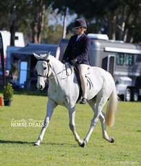 """Pictured working out in the hack classes is """"Oscar's Rising"""" and Alyssa Fowler."""