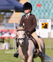 Pictured working out in her Junior Rider class is Savannah Daley.