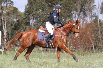 F Guthrie and Ballandown Tabasco look to be enjoying their outing