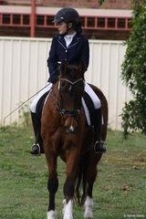 Bethany Joyes on her own 24yo saddlebred Canyonleigh Aphrodite