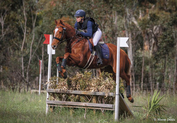 1st place in the 80 Div 1 was claimed by Fiona Guthrie riding 'Ballandown Tabasco'.