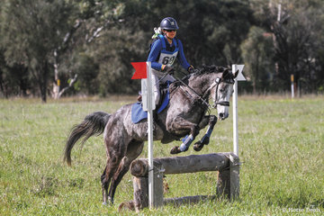3rd place in the 80 Div 1 was claimed by Sarah Clark riding 'Matilda Downs Another Sarah'.