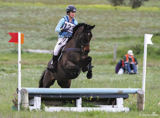 Julia Goodall riding 'Universus' claimed 1st place in the 65 Div 2.