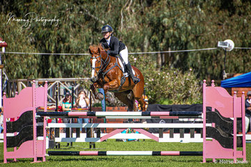 Showing some great form over the weekend, Sophia Craddock riding 'Sandon Grove Bobby Royal5